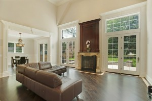 Living Rooms - Custom Home Builders Construction Company