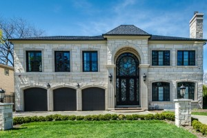 Elegant Custom Home, Lincolnwood, IL Construction Project. Custom Home Builders: New Construction