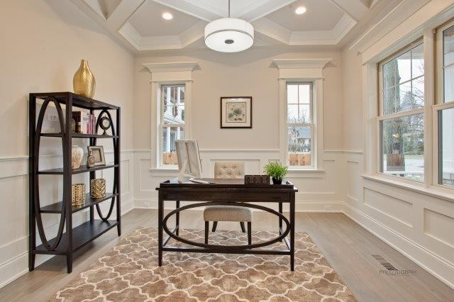 Chicagoland illinois custom home builders custom home for Office design northbrook il