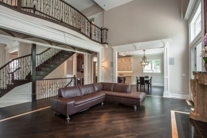 Family Room Staircase View, Interior