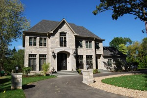 Fine Traditional Custom Home, Northfield, IL Construction Project. Custom Home Builders: New Construction
