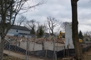 Demolition Started - New Construction in Glencoe