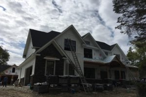 New Construction Project in Glencoe 5500sqft – Hardie Install