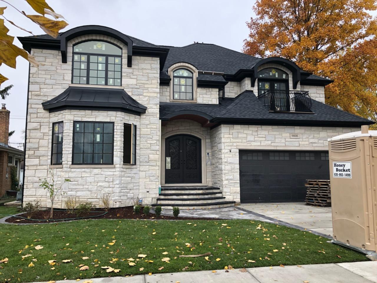 New Construction Custom Home In Morton Grove - Finished Exterior