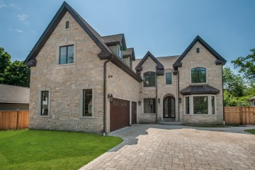 Exquisite French Provincial Custom Home, Glenview by Custom Home Builders: New Construction.